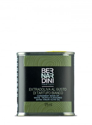 Olio extravergine di oliva al tartufo bianco - latta 175ml