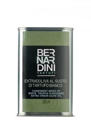 Olio extravergine di oliva al tartufo bianco - latta 250ml