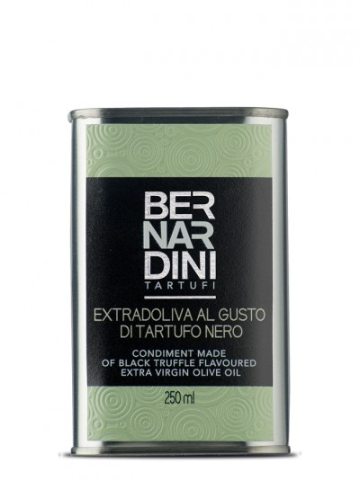 Olio al tartufo nero in latta 250 ml