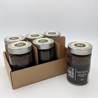 Caja de salsa de trufa 6 x 180gr