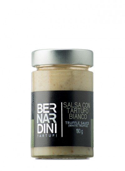 Salsa de trufa blanca 190 gr