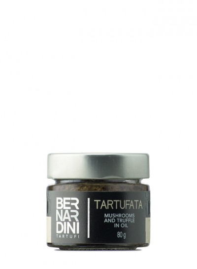 """""""Tartufata"""", salsa de trufa negra de verano y setas"""
