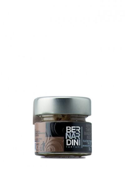Rebanadas de trufa blanquilla en aceite 30g