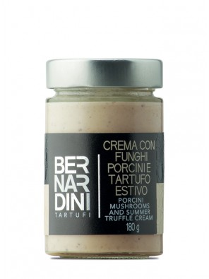 Porcini mushrooms and truffle cream 180 gr