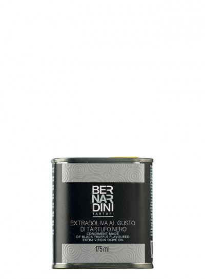Black truffle oil in can 175 ml