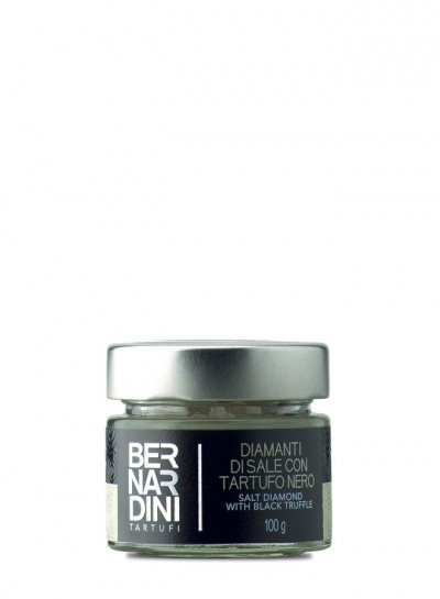 Black truffle salt 100 gr