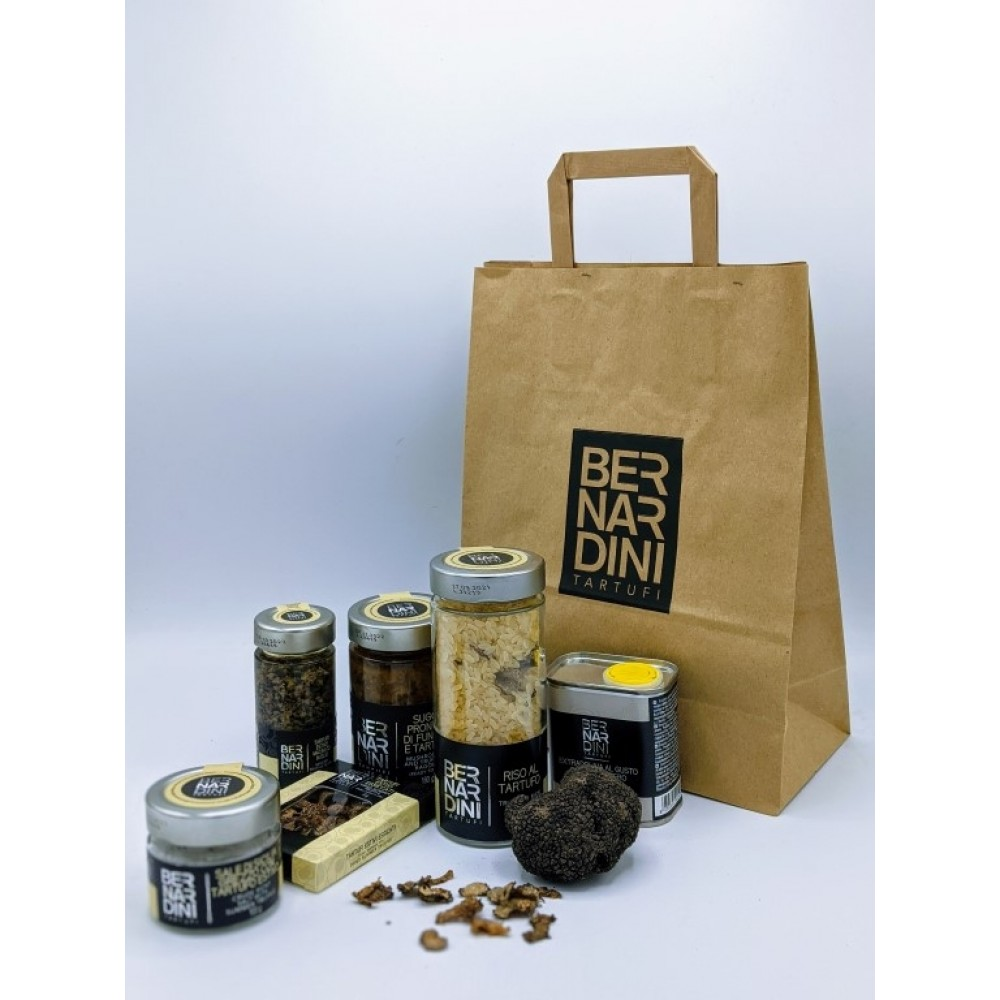 Shopper - Gift bag, 0,31 €, Bernardini Truffles, Acqualagna Italia