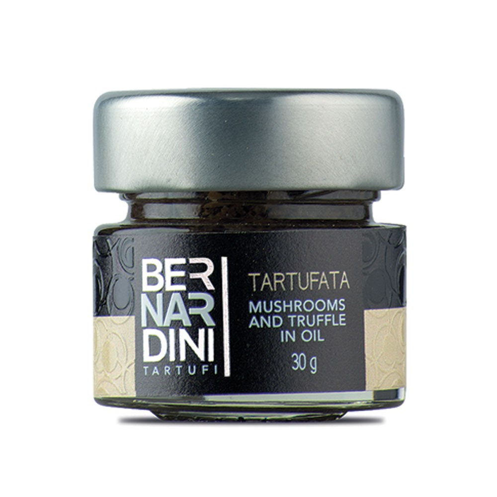 Mushrooms and truffle sauce 30 gr, 4,95 €, Bernardini Truffles, Acqualagna Italia