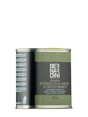 White truffle oil in can 175 ml