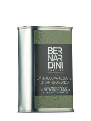 White truffle oil in can 250 ml