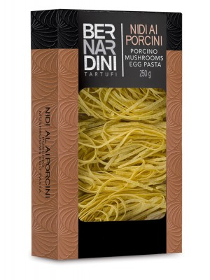 Egg pasta with porcini mushrooms