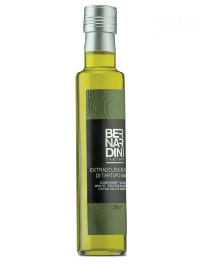 White truffle oil in bottle 250 ml
