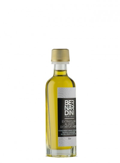 Black truffle oil 50 ml, 7,00 €, Bernardini Truffles, Acqualagna Italia