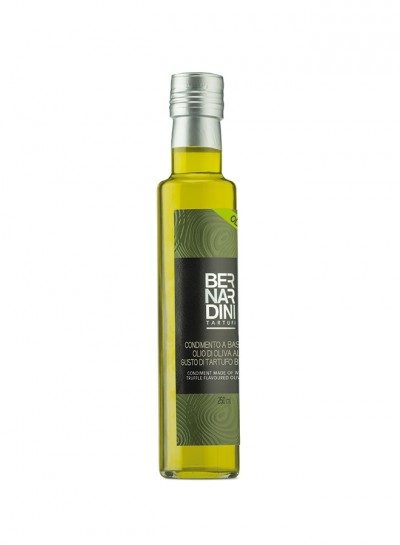 Condiment made of white truffle flavoured olive oil 250 ml, 17,40 €, Bernardini Truffles, Acqualagna Italia