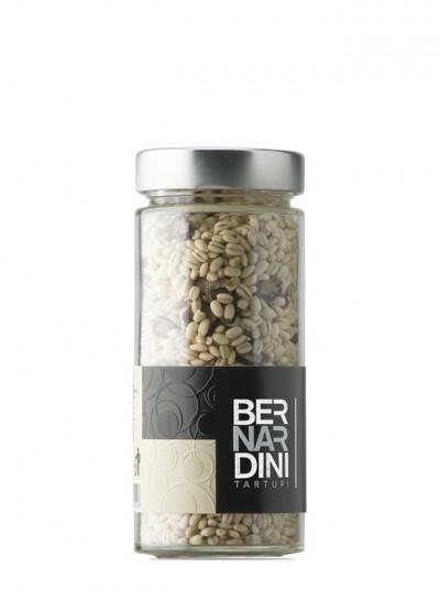 Truffle barley risotto