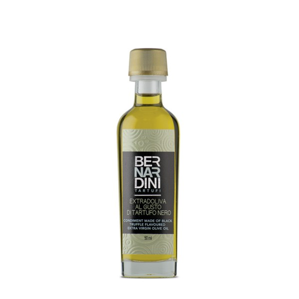 Black truffle oil 50 ml, 7,70 €, Bernardini Truffles Acqualagna Italia