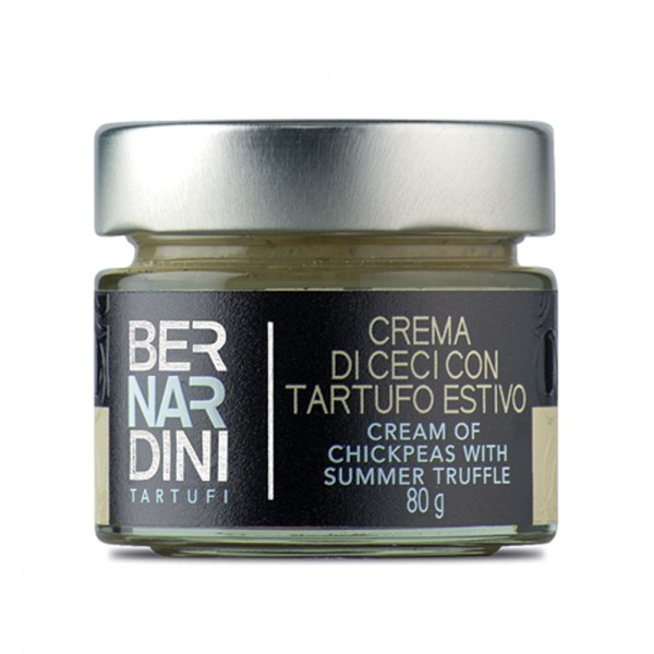 Cream of chickpeas with truffle 80 gr, 10,89 €, Bernardini Truffles Acqualagna Italia