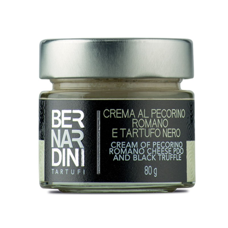 Cream of Pecorino cheese and truffle 80 gr, 10,89 €, Bernardini Truffles Acqualagna Italia