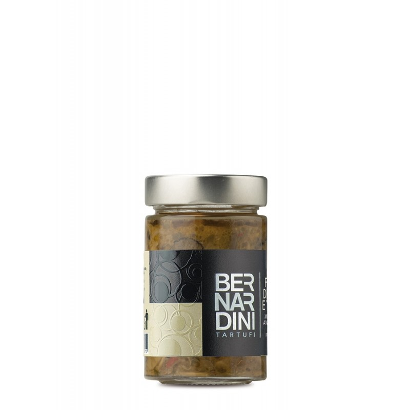 Mushrooms and truffles ragout, 9,24 €, Bernardini Truffles, Acqualagna Italia