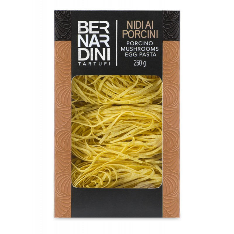 Egg pasta with porcini mushrooms, 8,69 €, Bernardini Truffles Acqualagna Italia