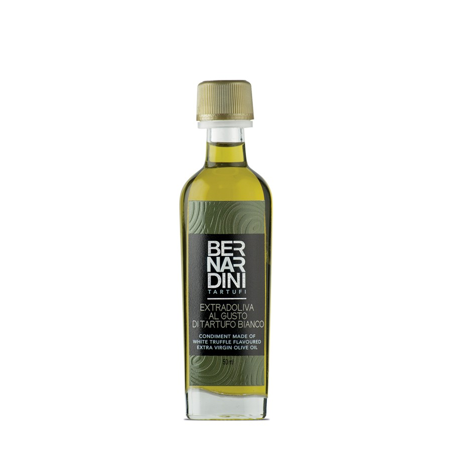 White truffle oil 50 ml, 8,80 €, Bernardini Truffles, Acqualagna Italia