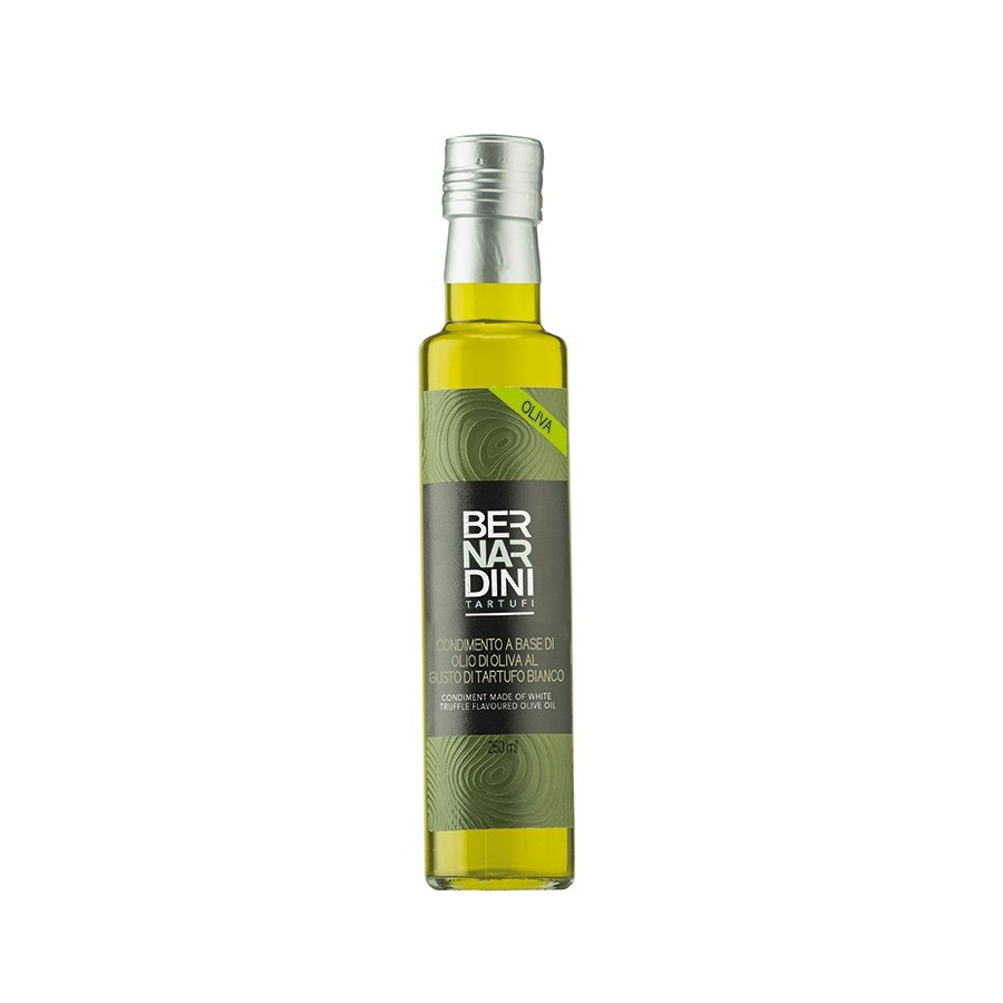 Condiment made of white truffle flavoured olive oil 250 ml, 19,14 €, Bernardini Truffles, Acqualagna Italia