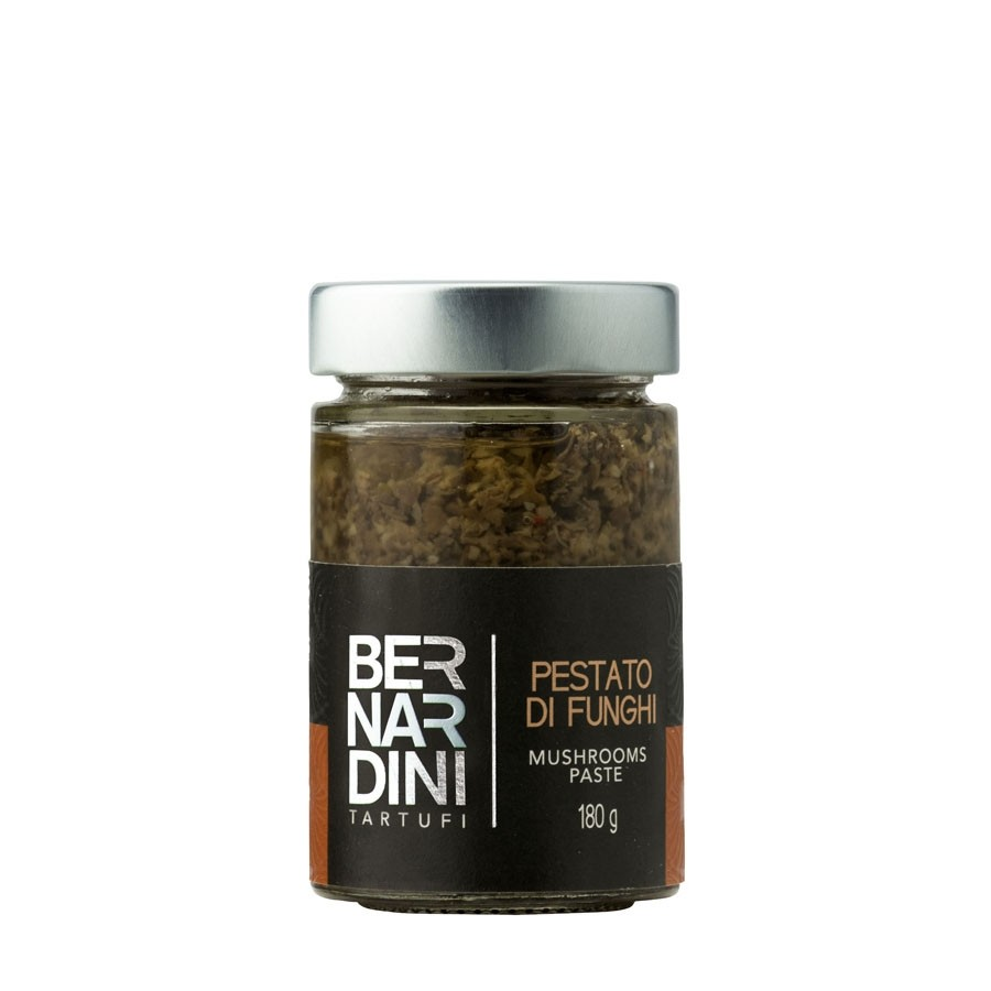Mushrooms paste, 8,16 €, Bernardini Truffles, Acqualagna Italia